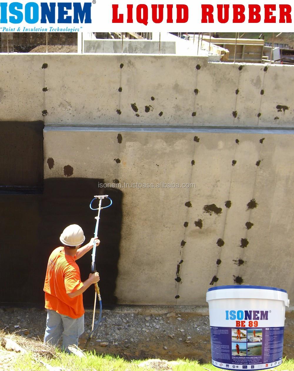 Isonem Be 89 Liquid Rubber Bituminous Waterproofing Membrane - Buy Rubber  Membrane For Waterproofing,Modified Bituminous Waterproofing