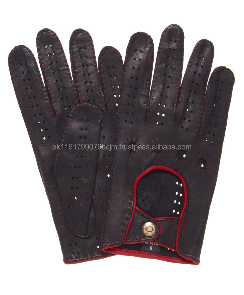 Coolest Full Finger PU leather Driving Gloves