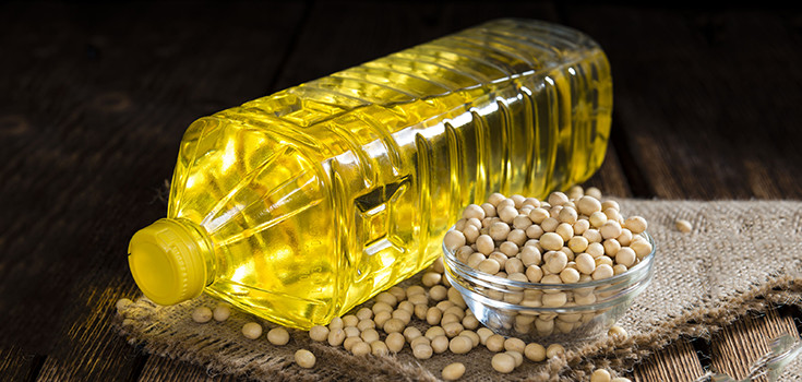 Refined Soybeans and Olive Oil