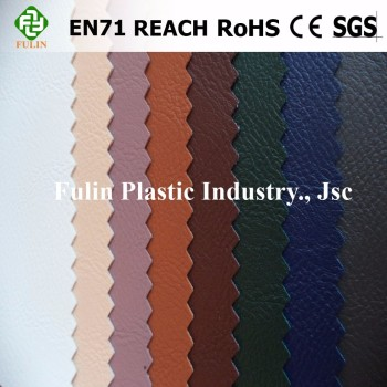 Colourful semi PU /pvc synthetic leather for sofa for bag and car seat covers