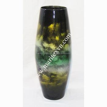 Meistverkauften Handgefertigten Bambus Blumenvase Lack Bambus Vase