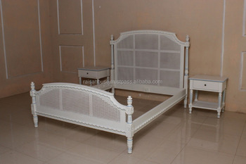 French Style Reproduction Furniture - French Cane Bed And Rattan ...