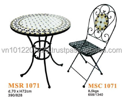 Mosaic Outdoor Furniture, Mosaic Outdoor Furniture Suppliers And  Manufacturers At Alibaba.com