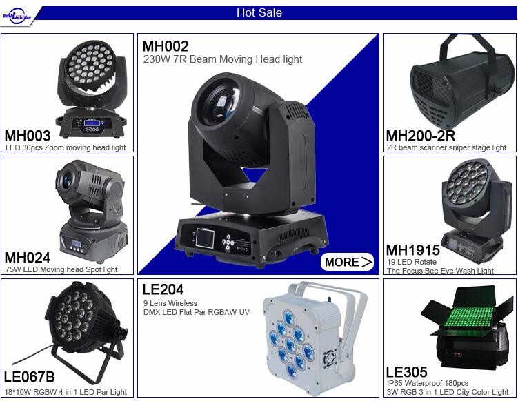 Promotion Price Focus Rgbw Zoom 36x10w 4in1 Led Moving Head Wash ...