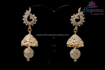 b06adc74f Diamond drop earrings - American diamond earring-CZ diamond earrings - American  earring-Wholesale