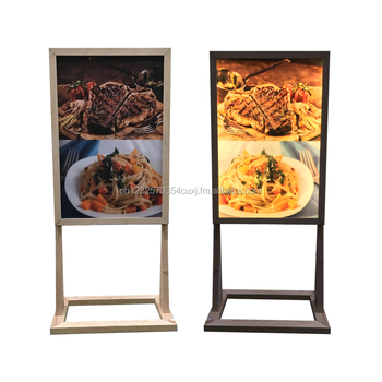 Wooden Lighted H Standee - Buy Wooden Lighted Standee,Wood Light Box ...
