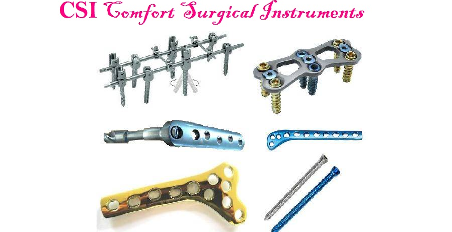 Lead Hands, Hand Fixation Plate Orthopedic Instruments