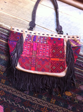 handmade leather vintage banjara bags