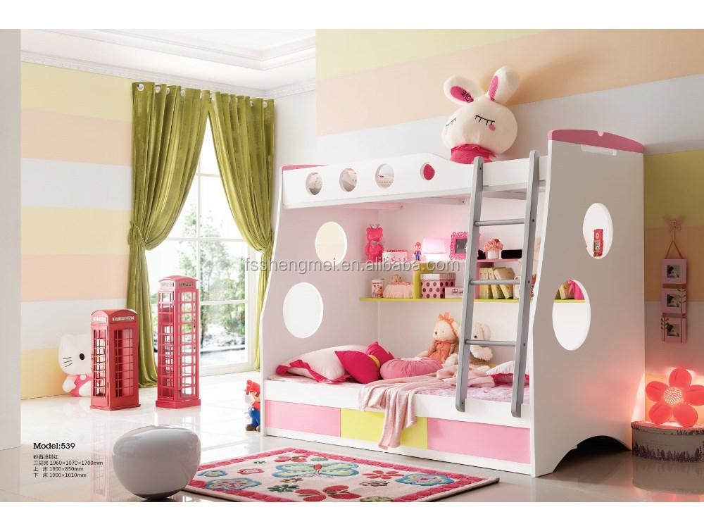 China e standaard mdf leuke stapelbed kids slaapkamer meubels