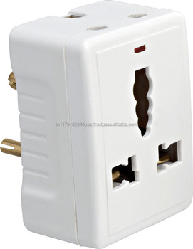 One To Three Multi Outlet 3 Round Pin 15a Power South Africa Plug ...