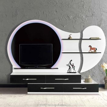 Mercan Turkish Tv Wall Unit Meuble 2018 Design Fancy Model Smart Furniture Simple Units Hanging