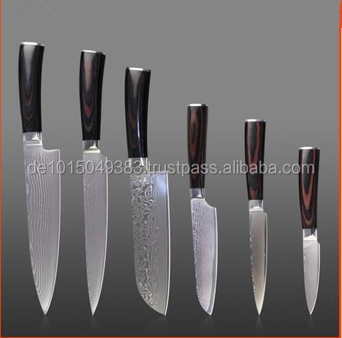 Knife Set U0026 Kitchen Knives Set   Damascus Steel
