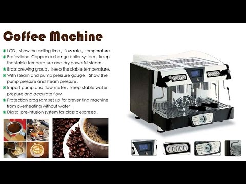 Coffee Machine|240 Cup/h Semi-automatic Commercial Espresso Coffee Machines|Coffee Maker