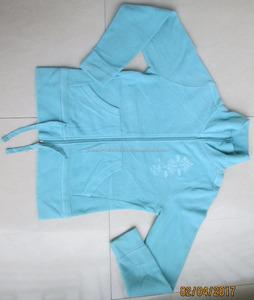 Ladies Long Sleeve Stand Collar 100% Polyester Polar Fleece Sweatshirt /Jacket
