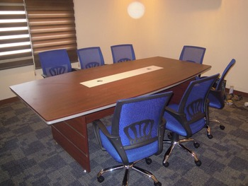 Ctcft Conference Table Cherry Or Gray Khomi Office Furniture - Cherry conference room table