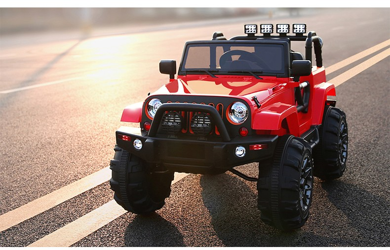 new jeep remote control baby electric carkids battery powered mp3 24g bluetooth