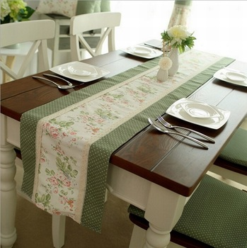 100 Pure Cotton Table Runner