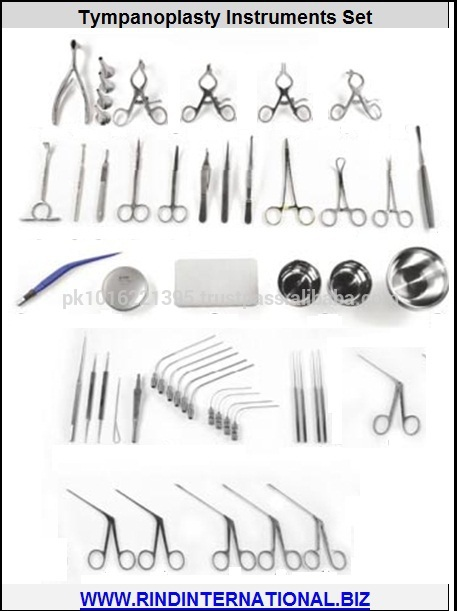 Tympanoplasty Surgery Instruments Set Tympanoplasty