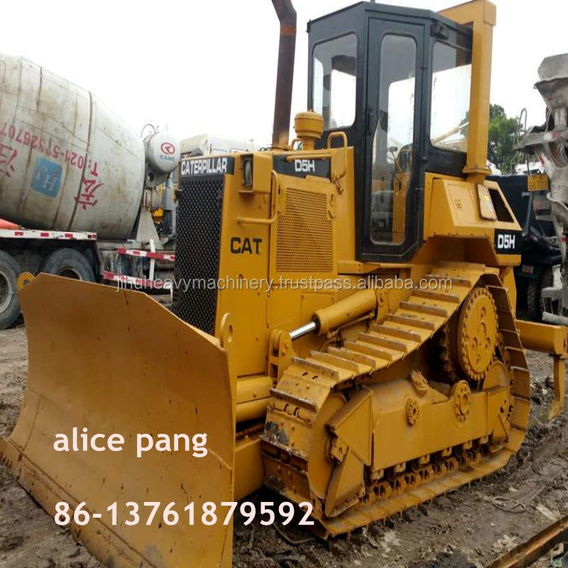 Used crawler bulldozer cat d5 bulldozer with front blade ,tractor dozer