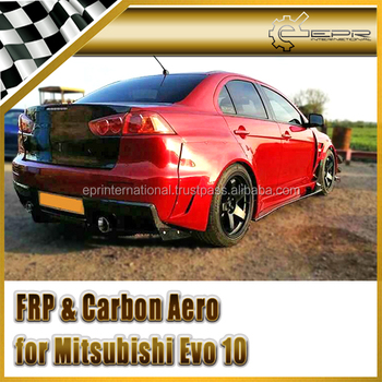 EPR - Carbon Fiber / FRP Fiber Glass For Mitsubishi Evolution EVO 10 VA Style Wide Ver Full Body Kit