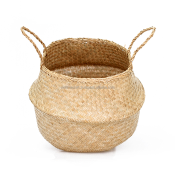 Seagrass Storage Basket/ Cleap Laundry Baskets