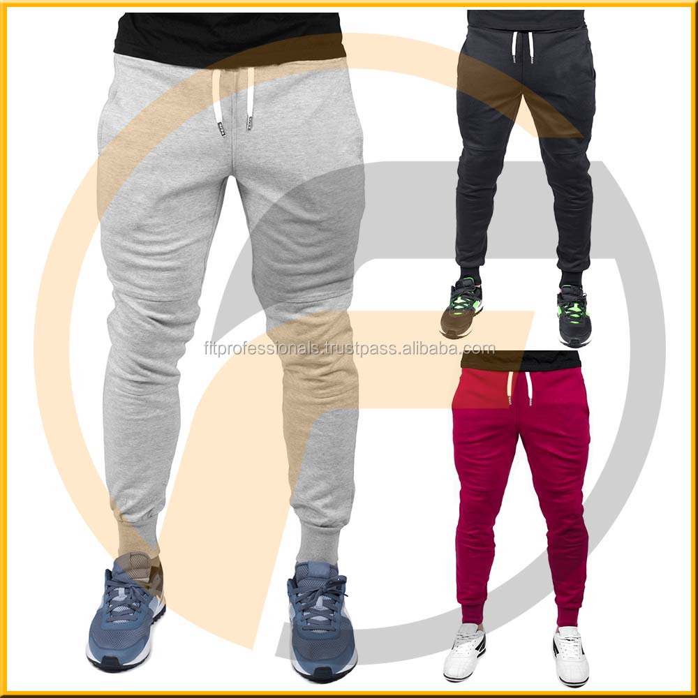 Cotton Terry Fabric Printed Men's Training Jogger Sweat Pants Oem ...