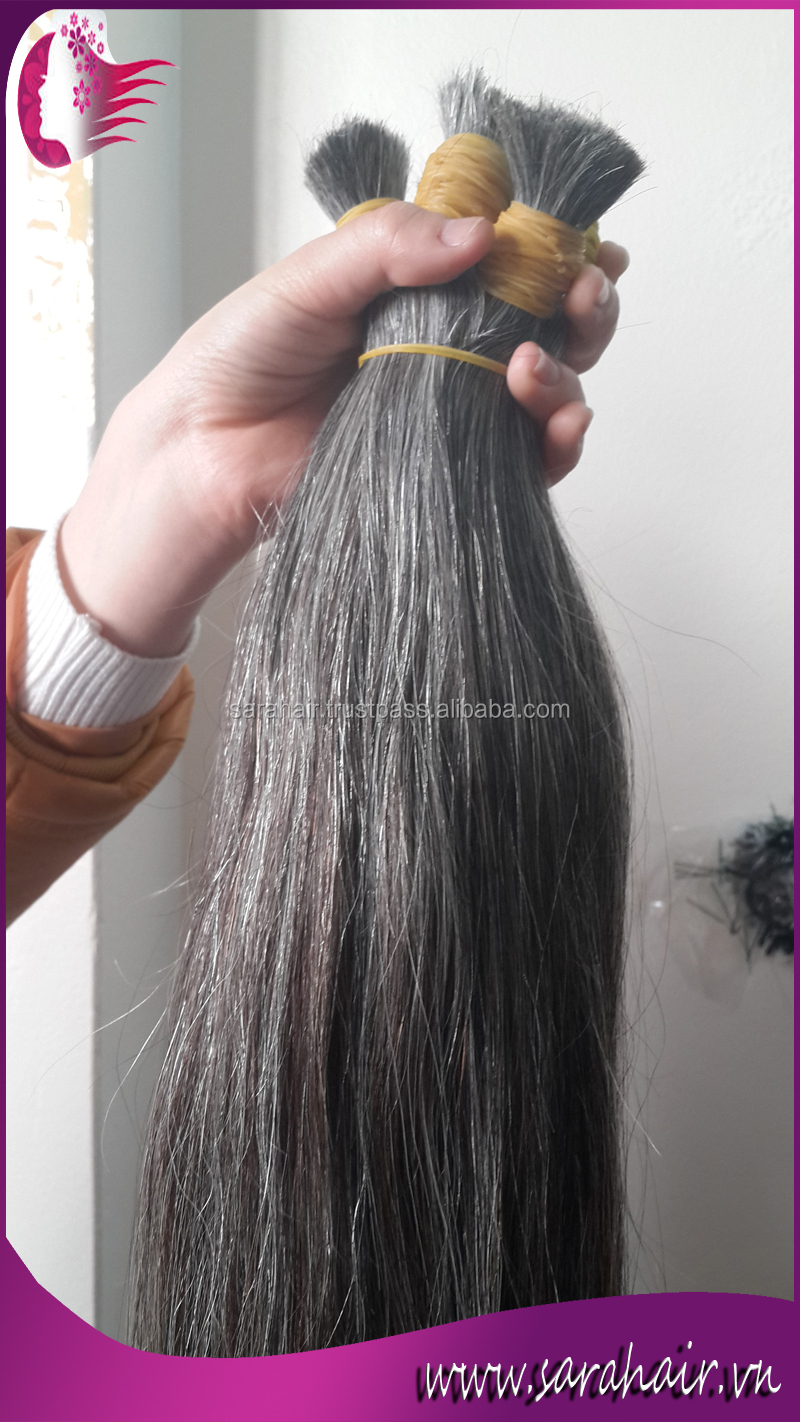 100 virgin vietnamese human hair extensions double drawn silver 100 virgin vietnamese human hair extensions double drawn silver grey hair wefts white hair extension pmusecretfo Gallery