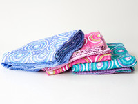 Babies Size and Stitching Technics hand quilted kantha baby quilts