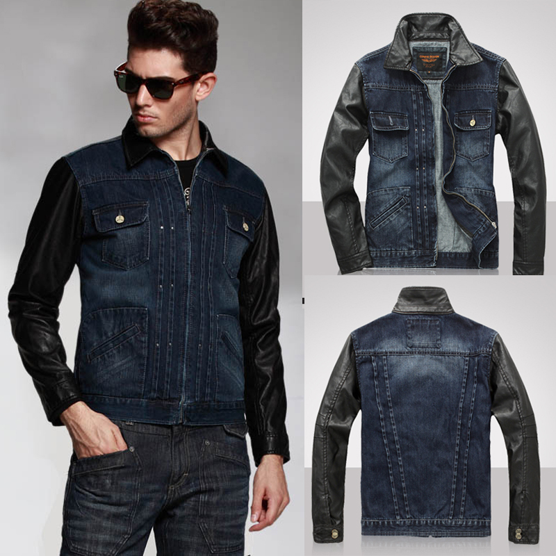 Images of Jeans Jacket Mens - Reikian