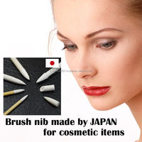 Soft feel and Japanese makeup tool nib for various use made by Japan