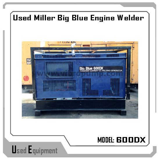 Used Welders For Sale >> Used Miller Big Blue 600dx Engine Welder Buy Miller Mig Welder