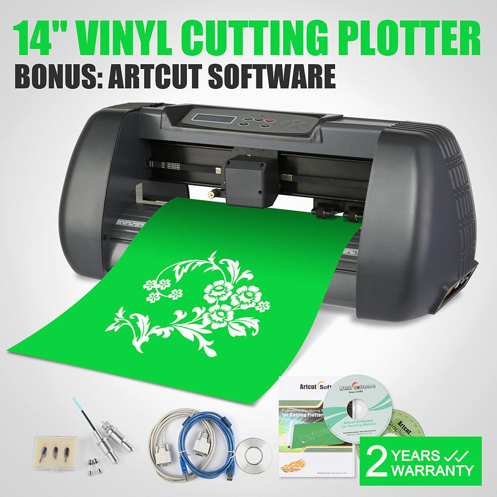VEVOR Hot Sell 375mm Vinyl cutter Sticker Cutting Plotter Machine