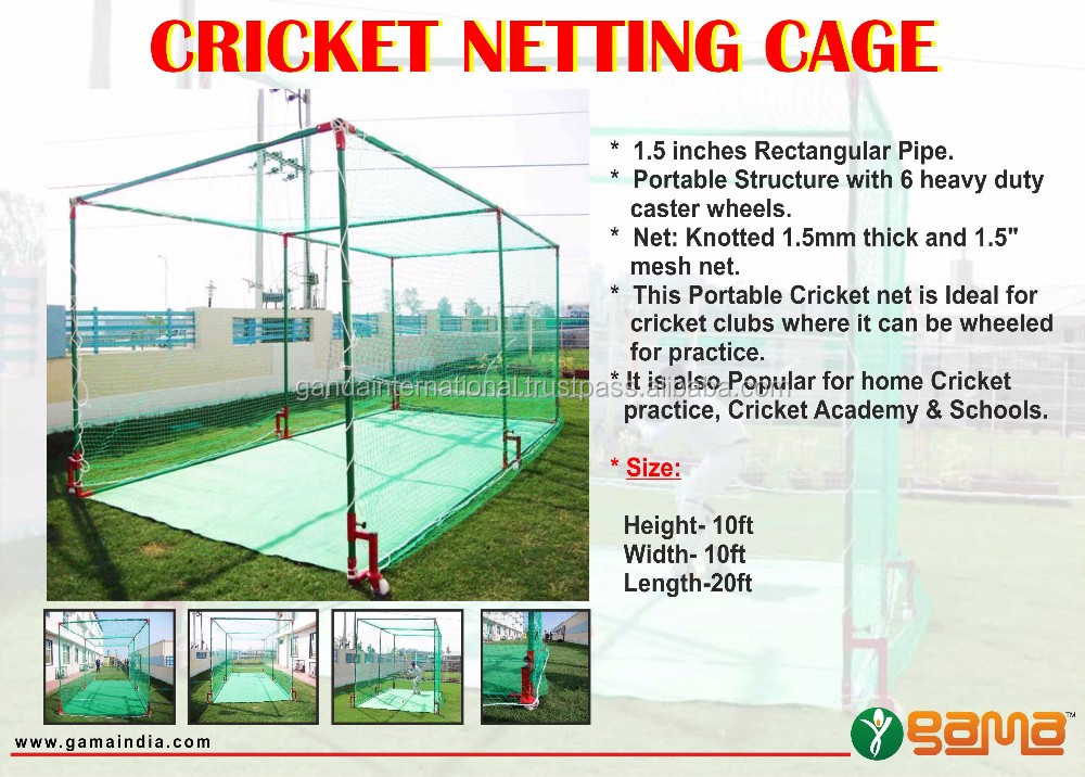 Cricket Pitch Net Cage