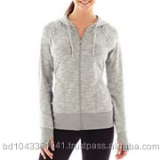 Ladies Flat Knit Sweater/Cardigan