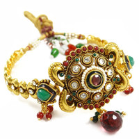 Indian Wedding Women Wear Jewellery Armlet Polki Upper Arm Bracelet Traditional Jewellery For Her- ARM411