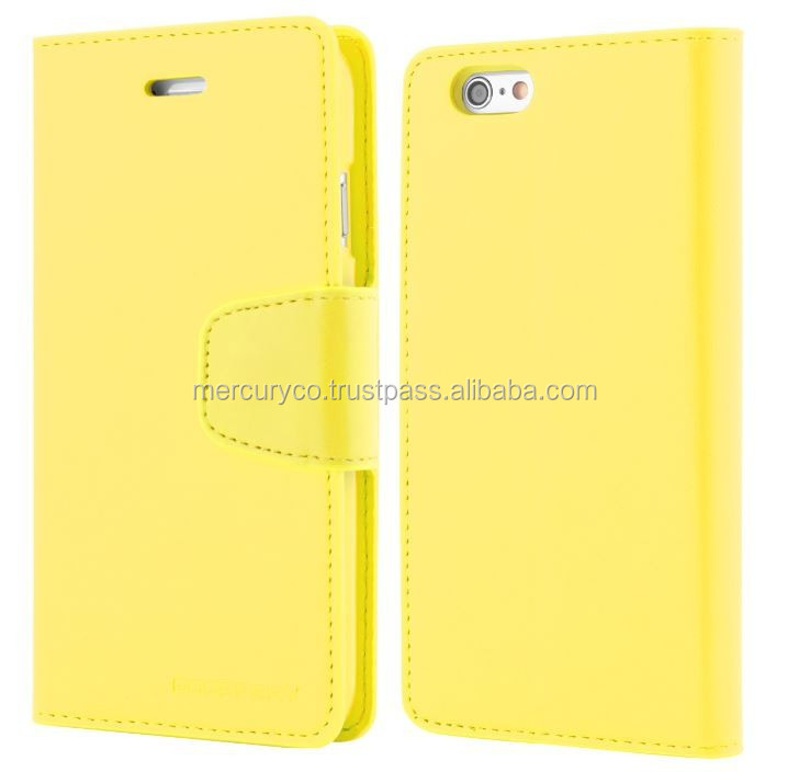 mobile phone diary phone case Mercury Sonata diary phone case (Yellow)