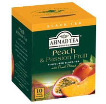 Ahmad Tea Peach & Passion Fruit 10's (Pls email allen@manlyfoods.com or +65 9025 4477 as I am unable to reply to messages here)