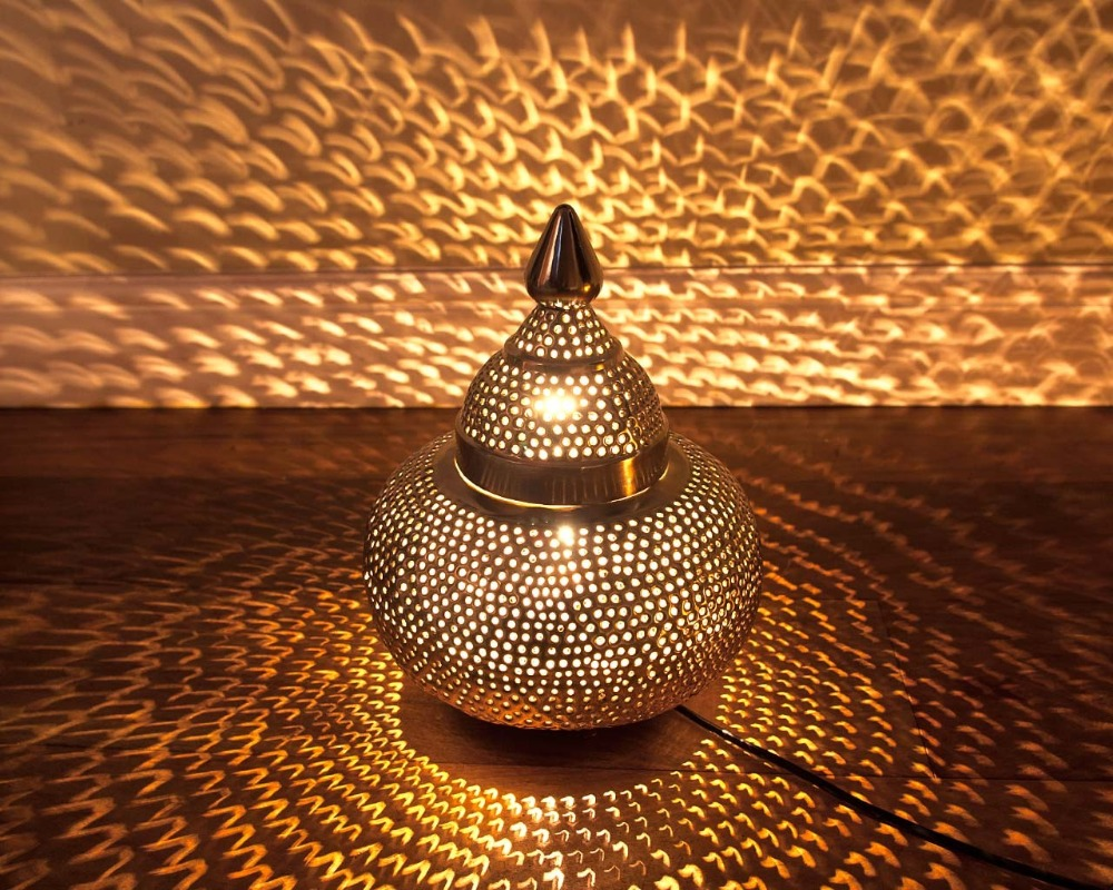 Captivating Moroccan Table Lamp Lantern
