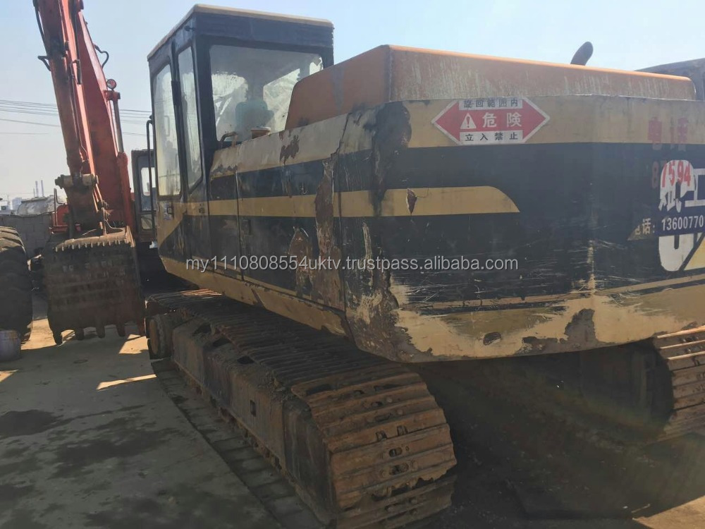 Used cheap old model Catepillar E200B crawler excavator for sale in Shanghai