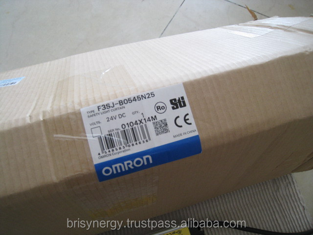 Omron Safety Light Curtain F3sj B0545n25 Omron Type 4
