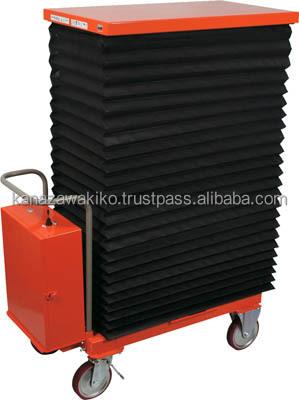 Trusco Scissor Lift Trolley (battery Powered Hydraulic With ...