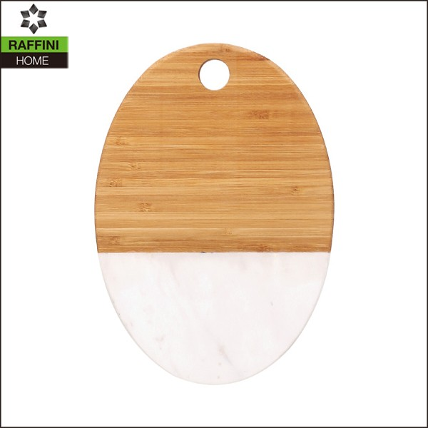 Marble Bamboo Cutting Board