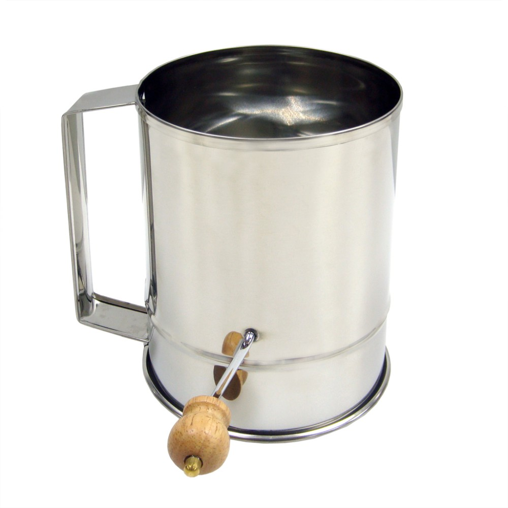 5 To 8 Cups Stainless Steel Hand Crank Mechanism Kitchen
