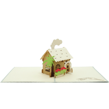 High quality house warming themed fancy 3d new house greeting cards high quality house warming themed fancy 3d new house greeting cards m4hsunfo