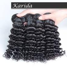 hot selling in europe market natural brown curly hair weaving
