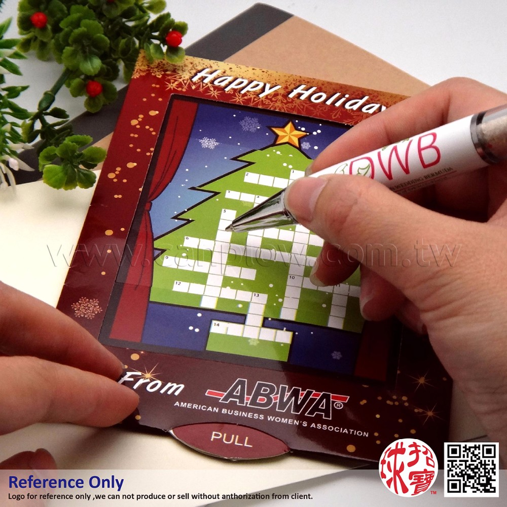 Navidad 3d Divertido Personalizado Palabra Rompecabezas Invitación Tarjeta De Felicitación Buy Palabra Rompecabezas Tarjeta De Invitación 3d Tarjeta
