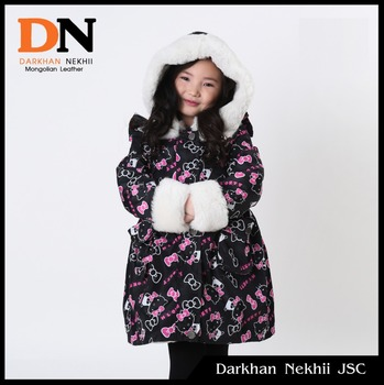 Winter Coat With Sheepskin Lining For Children - Buy Childrens ...