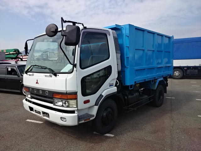 1999 Mitsubishi Fuso Fighter Dump / Kc-fk728cd / 4ton / 6d17 [wsh ...