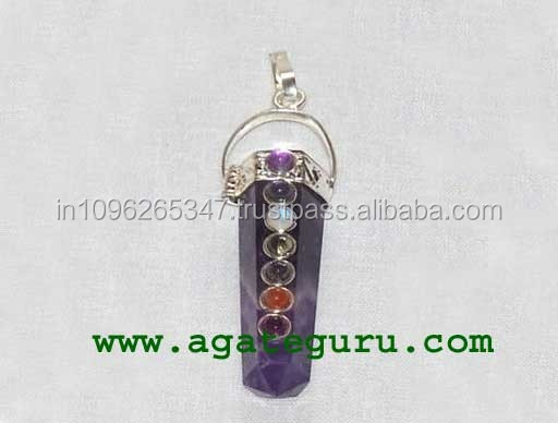 7 Chakra Spinning Merkaba Healing Wand Wholesale Prices