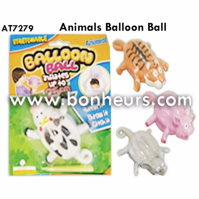 New Novelty Toy Animal Tiger Pig Balloon Ball